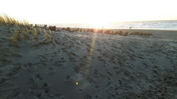 Zonsondergang Egmond aan zee