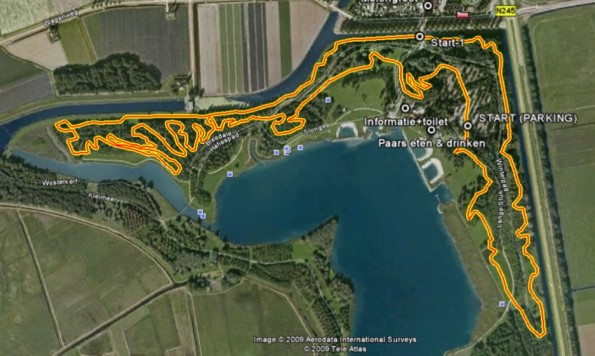 MTB route Geestmerambacht