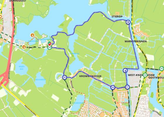 Rondje Alkmaardermeer - Marken Binnen